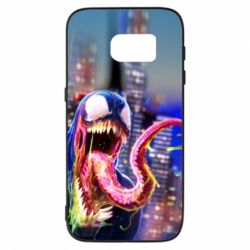 Чехол для Samsung S7 Venom slime