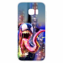 Чехол для Samsung S7 EDGE Venom slime