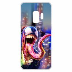 Чехол для Samsung S9 Venom slime