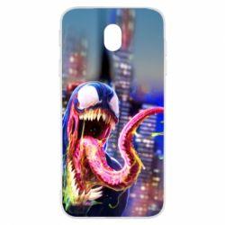 Чехол для Samsung J7 2017 Venom slime