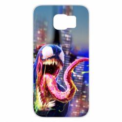 Чехол для Samsung S6 Venom slime
