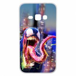 Чехол для Samsung J1 2016 Venom slime