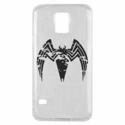 Чохол для Samsung S5 Venom Spider