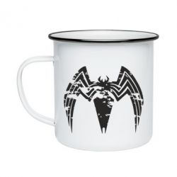 Кружка емальована Venom Spider