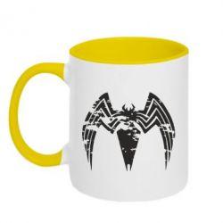 Кружка двоколірна 320ml Venom Spider