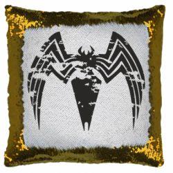 Подушка-хамелеон Venom Spider