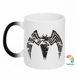 Кружка-хамелеон Venom Spider
