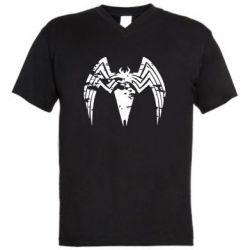 Чоловіча футболка з V-подібним вирізом Venom Spider