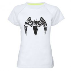 Жіноча спортивна футболка Venom Spider