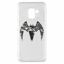 Чохол для Samsung A8 2018 Venom Spider