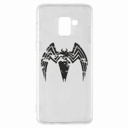 Чохол для Samsung A8+ 2018 Venom Spider