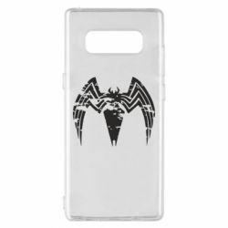 Чохол для Samsung Note 8 Venom Spider