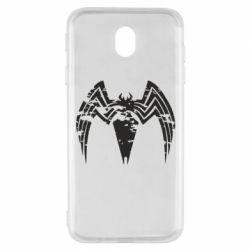 Чохол для Samsung J7 2017 Venom Spider
