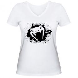 Женская футболка с V-образным вырезом Venum Art