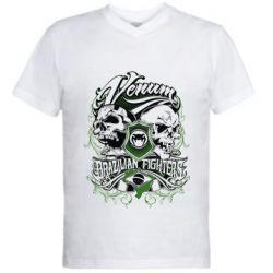 Мужская футболка  с V-образным вырезом Venum Brazilian Fighters - FatLine