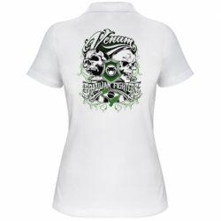 Женская футболка поло Venum Brazilian Fighters - FatLine