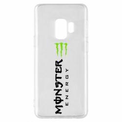 Чохол для Samsung S9 Вертикальний Monster Energy
