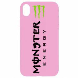 Чохол для iPhone XR Вертикальний Monster Energy