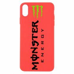 Чохол для iPhone Xs Max Вертикальний Monster Energy