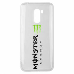 Чехол для Xiaomi Pocophone F1 Вертикальный Monster Energy
