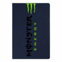 Блокнот А5 Вертикальний Monster Energy