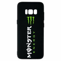 Чохол для Samsung S8 Вертикальний Monster Energy