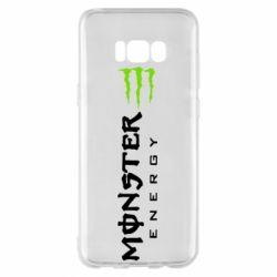 Чохол для Samsung S8+ Вертикальний Monster Energy