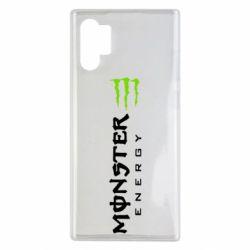 Чохол для Samsung Note 10 Plus Вертикальний Monster Energy