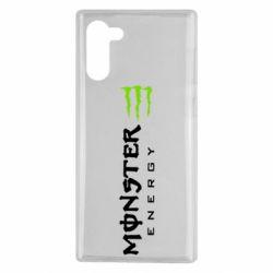 Чохол для Samsung Note 10 Вертикальний Monster Energy