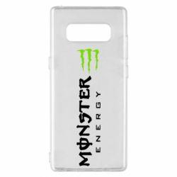 Чохол для Samsung Note 8 Вертикальний Monster Energy