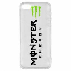 Чохол для iphone 5/5S/SE Вертикальний Monster Energy
