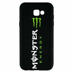 Чохол для Samsung A7 2017 Вертикальний Monster Energy