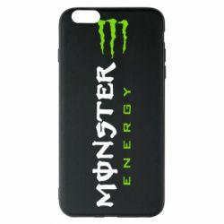 Чохол для iPhone 6 Plus/6S Plus Вертикальний Monster Energy