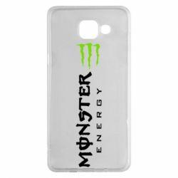 Чохол для Samsung A5 2016 Вертикальний Monster Energy