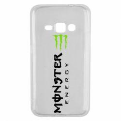 Чохол для Samsung J1 2016 Вертикальний Monster Energy