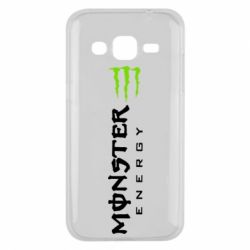 Чохол для Samsung J2 2015 Вертикальний Monster Energy