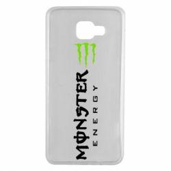 Чохол для Samsung A7 2016 Вертикальний Monster Energy