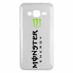 Чохол для Samsung J3 2016 Вертикальний Monster Energy