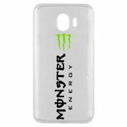 Чохол для Samsung J4 Вертикальний Monster Energy