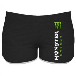 Женские шорты Вертикальный Monster Energy