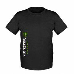 Детская футболка Вертикальный Monster Energy - FatLine