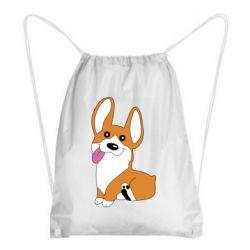Рюкзак-мешок Веселый корги