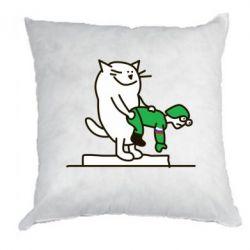 Подушка Вежливый кот - FatLine