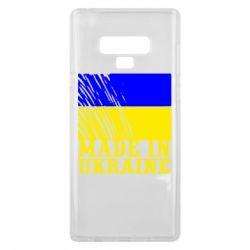 Чохол для Samsung Note 9 Виготовлено в Україні