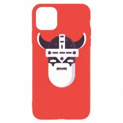 Чехол для iPhone 11 Pro Viking flat vector