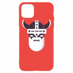 Чехол для iPhone 11 Pro Max Viking flat vector