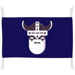 Флаг Viking flat vector