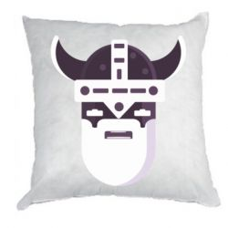 Подушка Viking flat vector