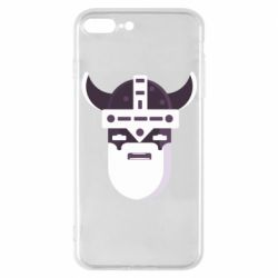 Чехол для iPhone 7 Plus Viking flat vector