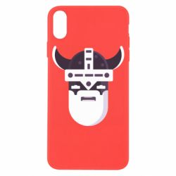 Чехол для iPhone X/Xs Viking flat vector